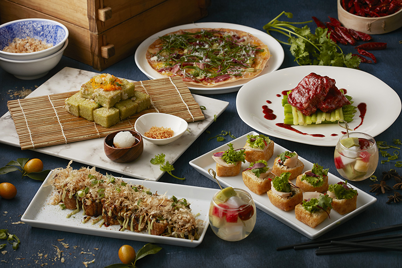 【新聞附件三】MU TABLE自助餐廳「老饕帶路」活動菜色形象照片