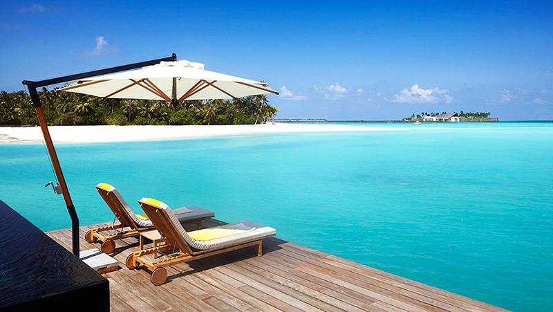 (圖13) 奢享馬爾地夫Tiffany藍海洋 (圖片來源_酒店官網)
