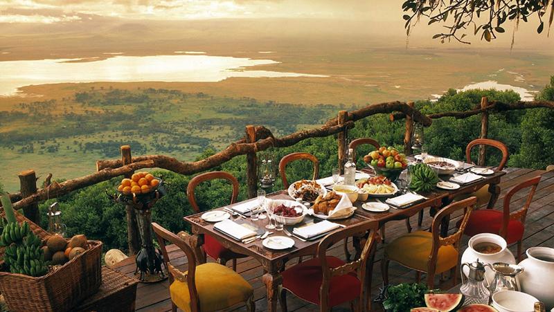 (圖4) 奢華營地酒店 _Beyond Ngorongoro Crater Lodge (圖片來源_酒店官網)