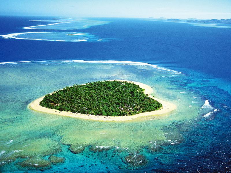 (圖5) 浪漫斐濟心型島 (圖片來源_HHtravel鴻鵠逸遊)