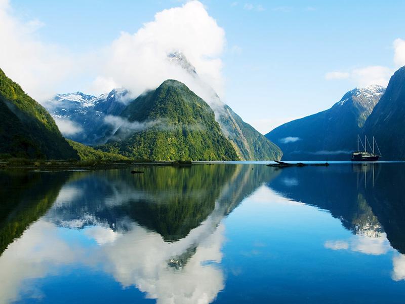 (圖7) 紐西蘭純淨壯闊自然景觀 (圖片來源_HHtravel鴻鵠逸遊)