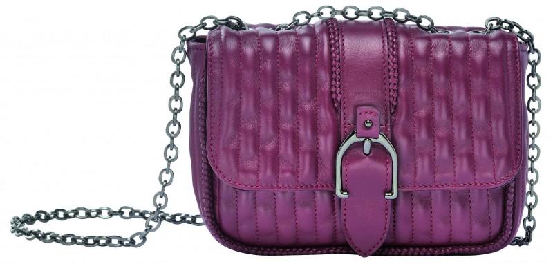 Longchamp Amazone Matelassé 系列肩背包_酒紅色_參考售價NT$31,100 (XS)- 10022941009