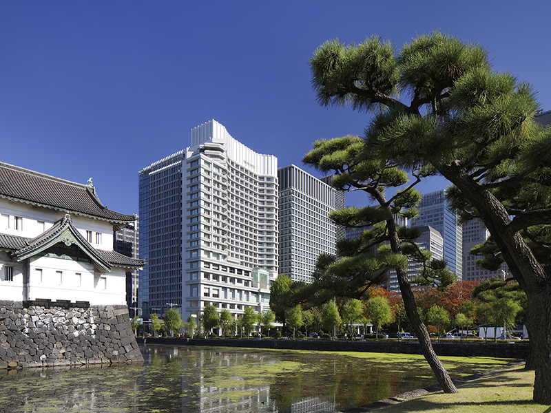 Palace Hotel Tokyo Exterior with Tatsumi Watchtower - II