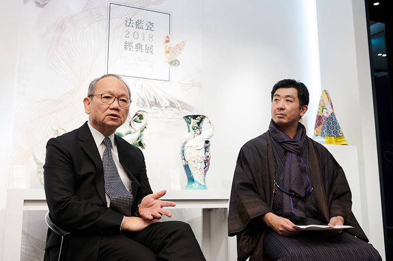 法藍瓷陳立恆總裁與OKANO岡野博一社長對談