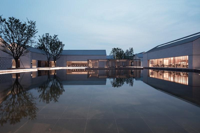 Alila Wuzhen - Facilities - View from Lobby Reception