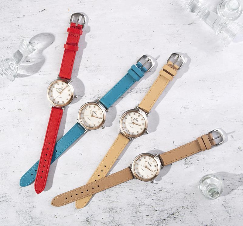 圖4.瑞士梅花錶炫美系列以全新漾采多變的快拆錶帶設計正式為百年慶賀暖身開啟序幕