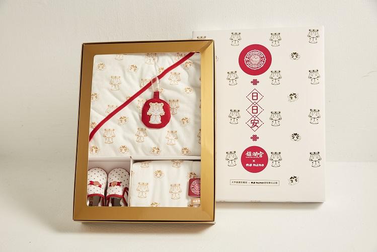 麗嬰房品牌my nuno和大甲鎮瀾宮聯名合作-日日安禮盒