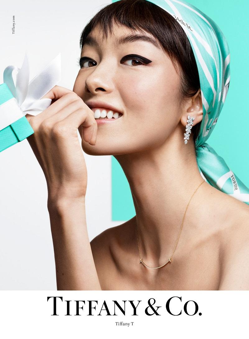 Tiffany & Co. 2019年春季形象廣告讚頌個人風格特質 - 超模孫菲菲 (2)