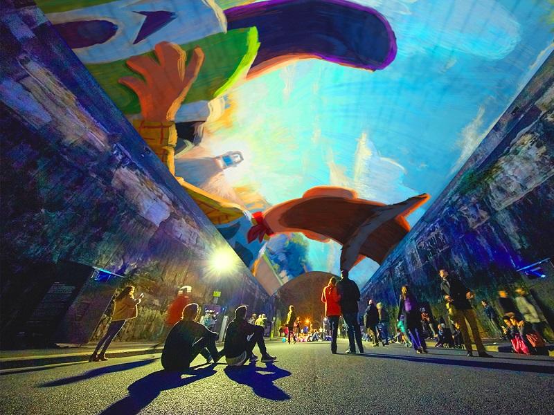 【易遊網】繽紛雪梨燈光音樂節VIVID SYDNEY_Pixar(圖片來源:Destination NSW)