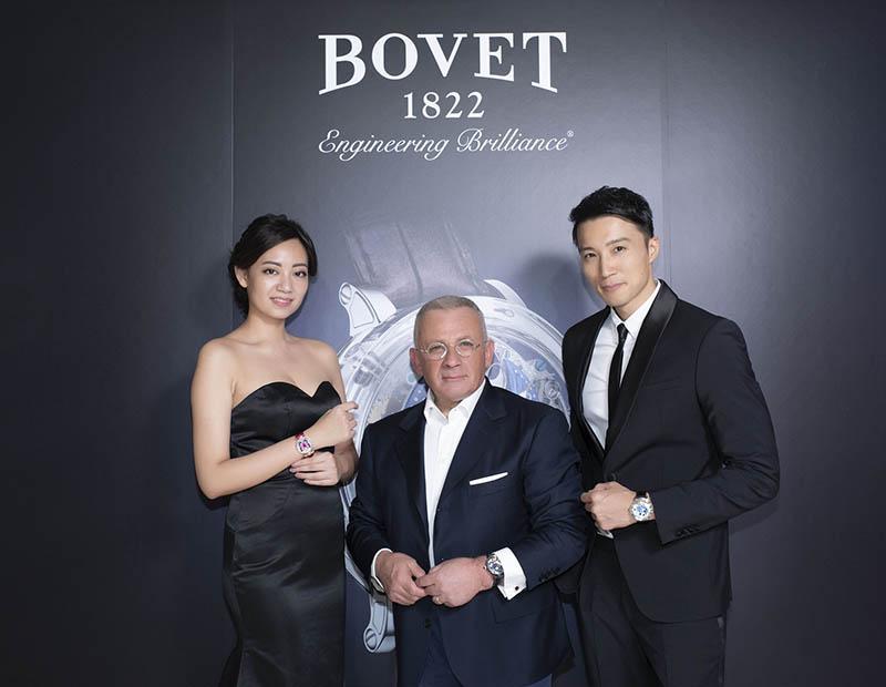 圖8.BOVET1822擁有者Mr. Raffy帶領品牌在2019年強勢回歸台灣市場 (1)