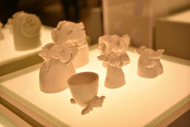 獲選為2019年巴黎工藝雙年展與英國陶瓷雙年展展出作品「景 𠎠 井」