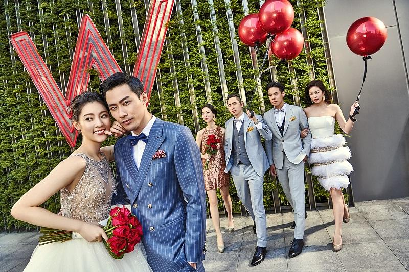 台北W飯店 - 「Wed Your Way 摩登童話婚禮派對體驗日」,秉持W品牌精神,跳脫傳統婚禮框架,強調「我的婚禮我做主Wed Your Way」概念,為準新人們打造新潮摩登婚禮風格!