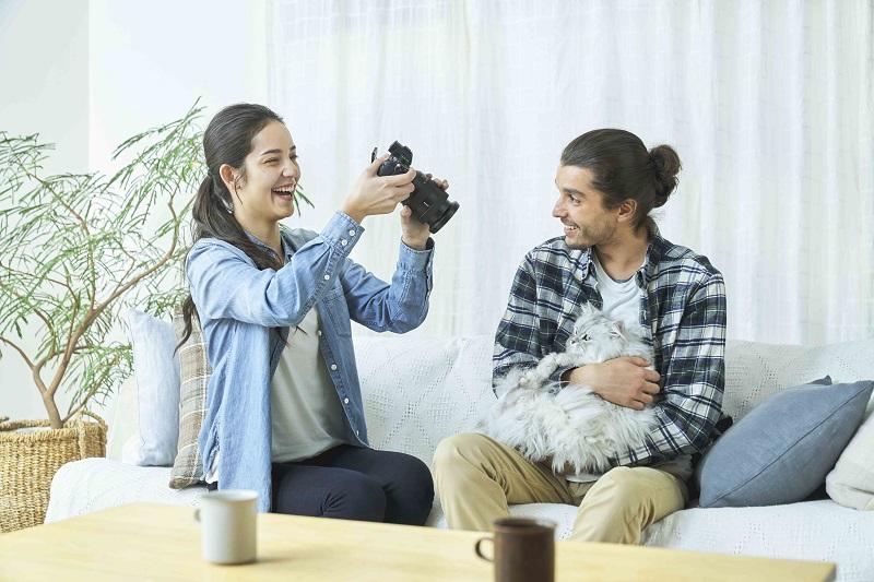 圖3) Sony 獨家動物即時眼部偵測自動對焦功能,徹底顛覆動物肖像與野生動物攝影體驗。