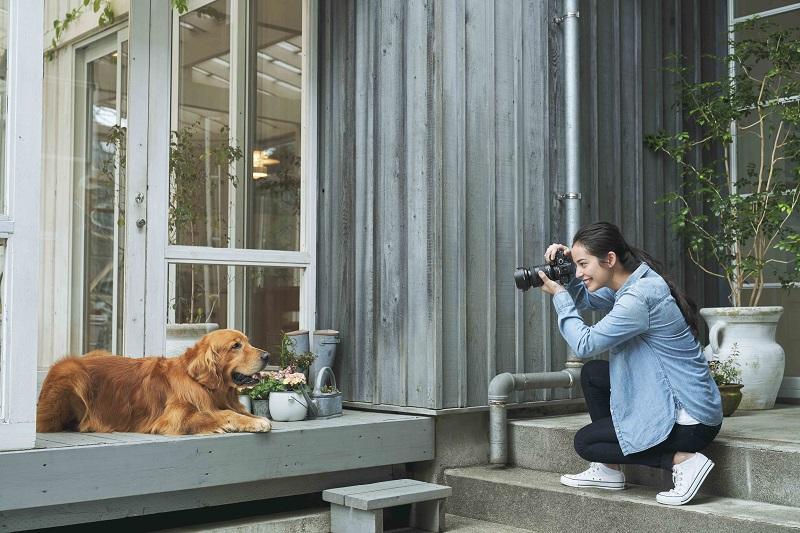 圖4) Sony 動物即時眼部偵測自動對焦功能,面對拍照再不受控的毛小孩都能用眼部對焦解決!