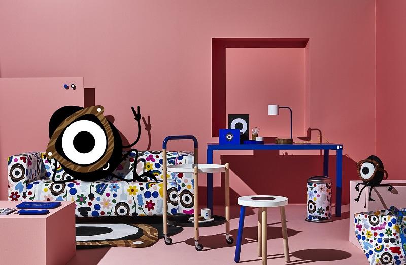 IKEA和Darcel Disappoints合作推出FÖRNYAD限量系列 6月淘氣上市 鮮明設計結合實用的文具及家具為生活添趣味