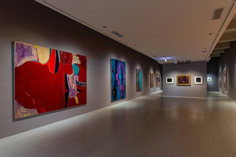 「她的抽象」展覽現場 Installation View ©北美館TFAM (2)