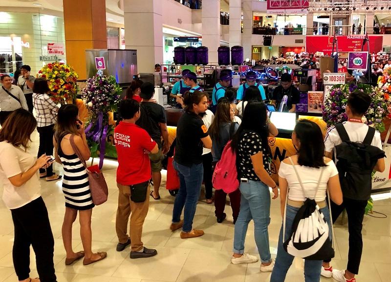【新聞照片4】日出茶太菲律賓第100店開幕首日銷售即破千杯