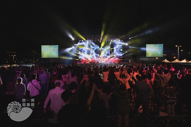 2019世界音樂節@臺灣 地球舞台 照片提供:2019世界音樂節@臺灣