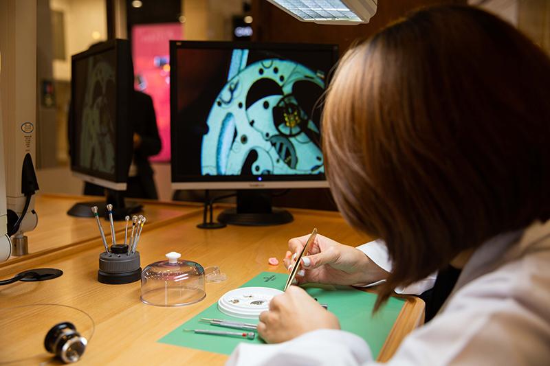 台北101購物中心 2019週年慶 World Masterpiece 向經典致敬,製錶工坊體驗課程