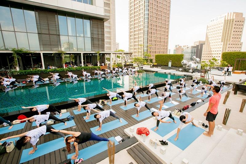 台北W飯店 - 做時尚運動也能做愛心公益!由台北W飯店主辦的年度慈善運動日,自2012年開