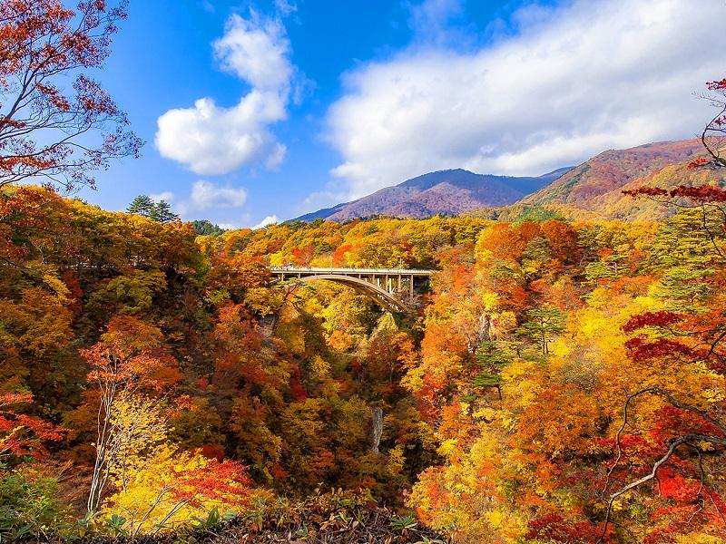 02【易遊網】鳴子峽為日本東北著名的賞楓景點