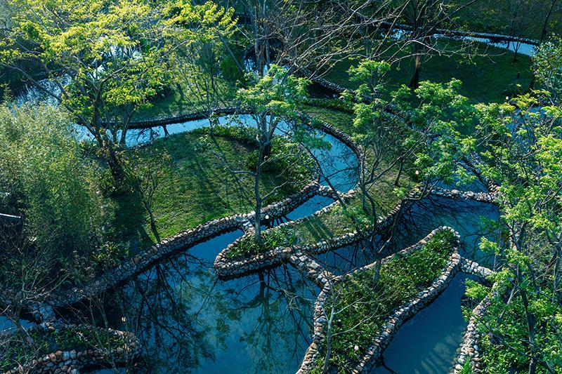 【虹夕諾雅 谷關】水之庭園