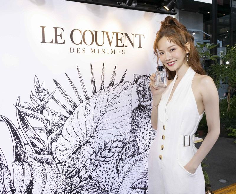 Le Couvent des Minimes 洛蔻芳品牌之友曾之喬出席旗艦店開幕活動_蝴蝶之水1
