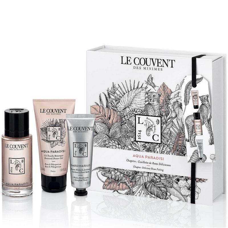 Le Couvent des Minimes 洛蔻芳 仙境之水 玫瑰與埃及天竺葵書本禮盒 內容 - NT$1,800