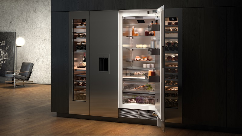 Gaggenau 400系列冰箱組合展現雍容建築大氣