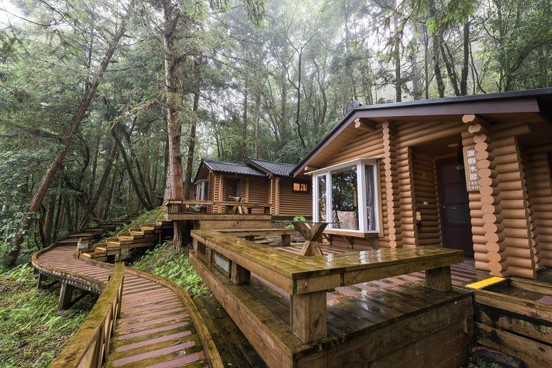 圖說-力麗明池渡假山莊木屋 4