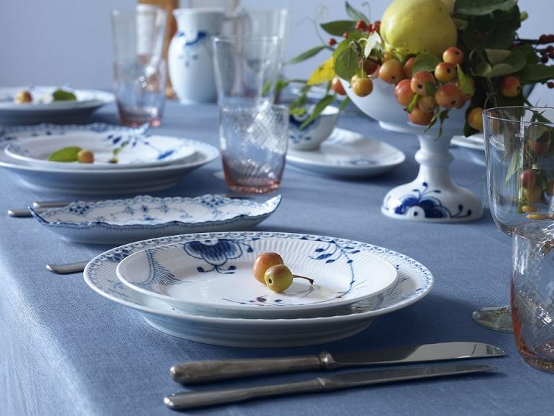 皇家哥本哈根_藍色系餐桌_4