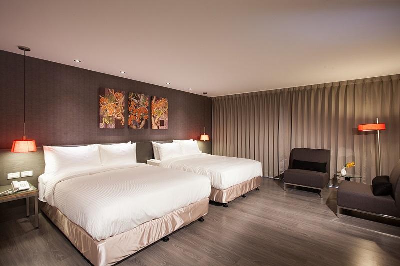 Wyn Hualien_豪華家庭房(兩大床)12坪44間