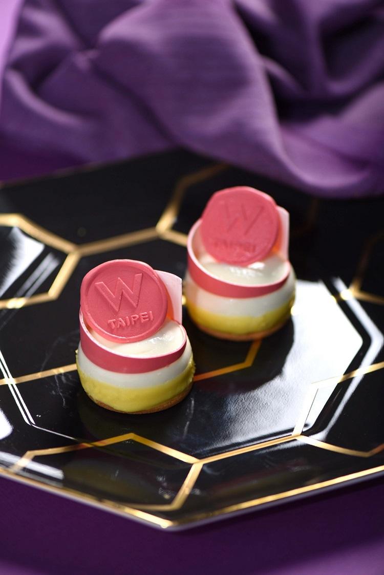 台北W飯店-檸檬慕斯蛋糕