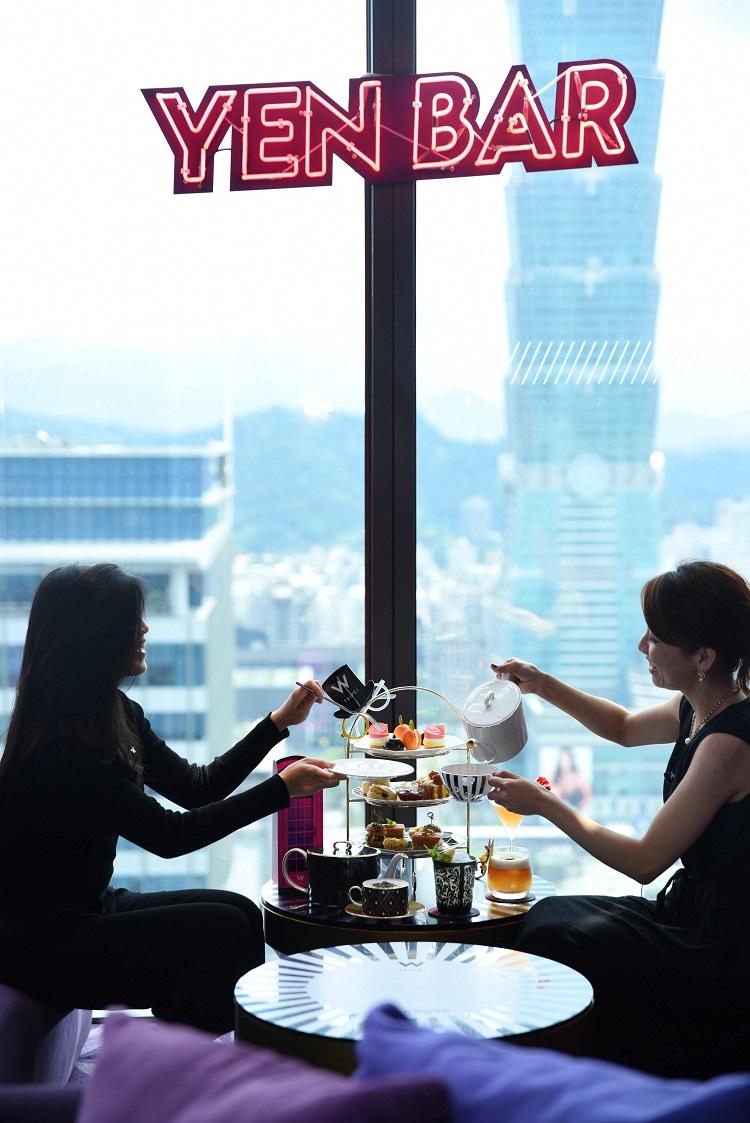 台北W飯店-繼一月推出首季下午茶「FLOWERY YEN 花艷」廣受好評之後,紫艷酒吧即日起推出第二季下午茶「AFFAIR IN YEN艷遇‧英倫」∘