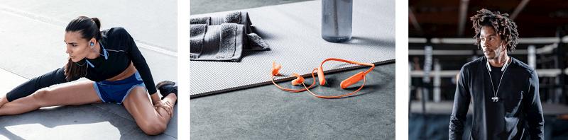 圖6) WI-SP510支援15小時電池續航力、俐落的耳塞防纏結磁鐵設計和連線更為穩定快速的藍牙5.0版本,同樣適合日常生活、通勤使用。