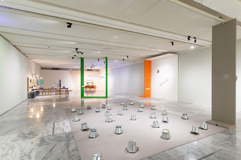 7.兒童藝術教育中心「會動的藝術」教育計畫空間局部,2019,臺北市立美術館提供。