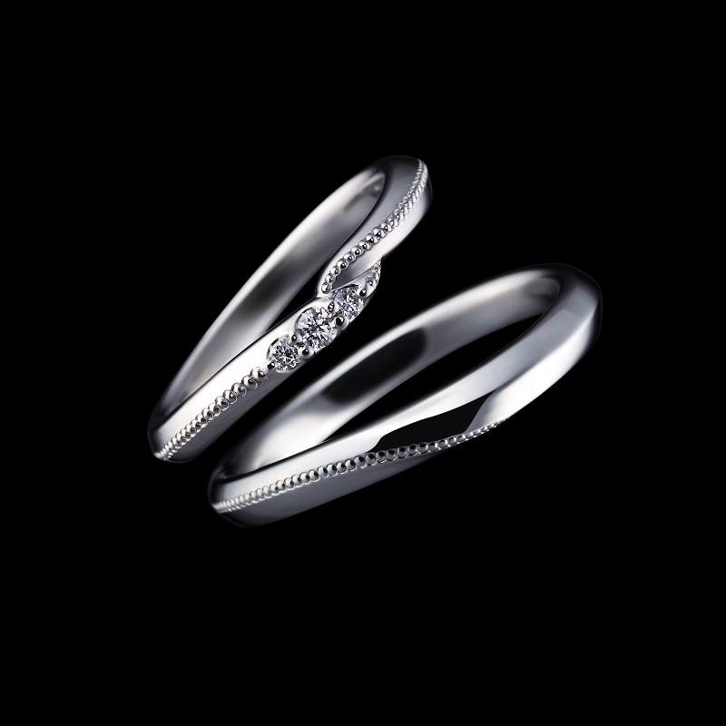 【商品照】EXELCO DIAMOND品牌三大熱銷系列 Coronet 鉑金對戒首次亮相