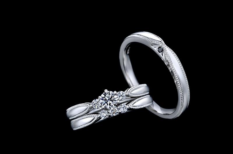 【商品照】EXELCO DIAMOND品牌三大熱銷系列Elisabeth 鉑金套戒王冠形狀設計