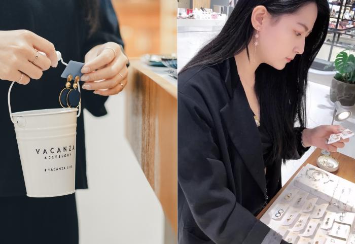 【新聞照六】台灣平價飾品龍頭 Vacanza Accessory 服務範圍遍佈台北、新北、新竹、台中、高雄5大城市,共20間門市。