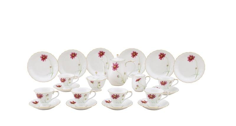 OKURA大波斯菊6人份午茶組 定價960,000