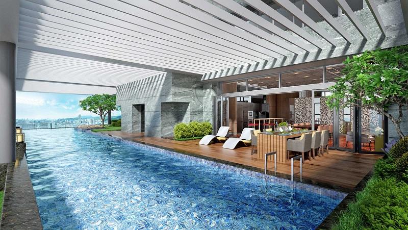家居雲邸sky pool 3D示意圖-小