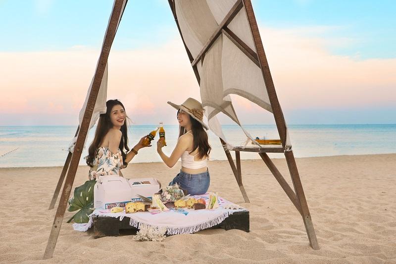 秋涼野餐趣-沙灘野餐2