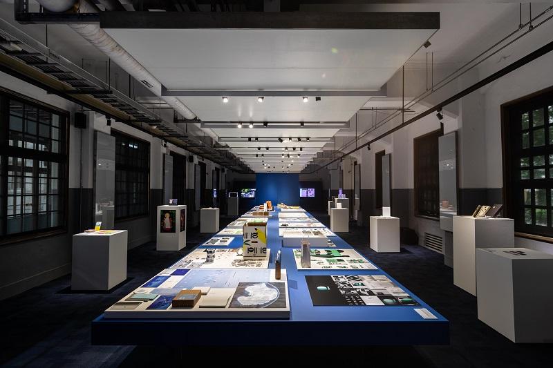 7. 04展區主要展出傳達與整合設計類作品,以及金點概念設計獎作品。