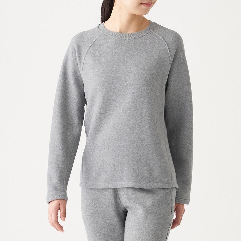 女有機棉混彈性裏毛套衫,699元:使用柔軟蓬鬆的裏毛素材。使用對環境溫和的有機棉所製成。