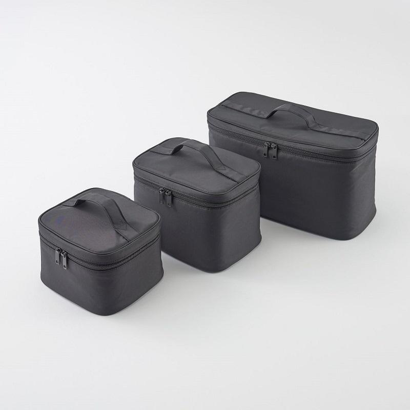 尼龍化妝包系列,130-760元:可整齊收納化妝、保養用品及刷具的收納包系列。 (3)
