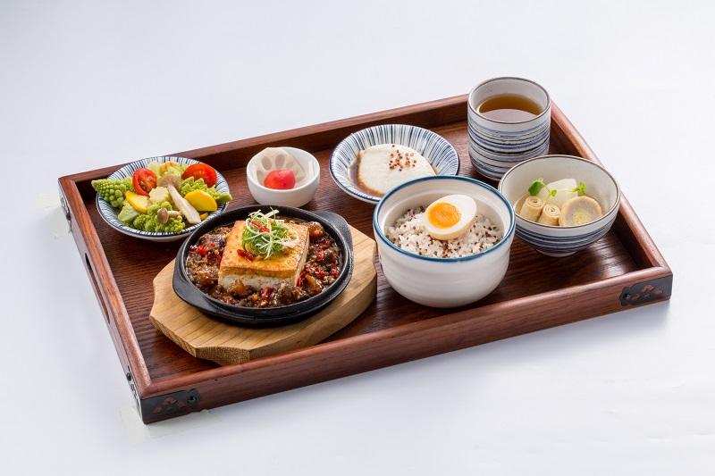 炊炊豐-麻婆牛筋-炊飯定食套餐