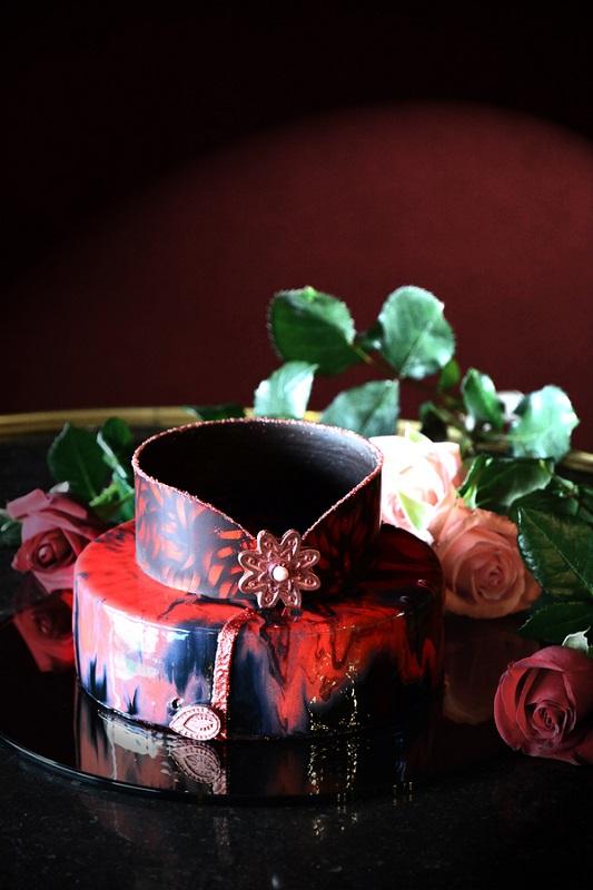 圖說-君品酒店_母親節蛋糕「玫瑰夫人La Madame Rose」