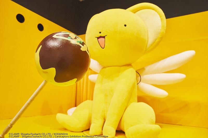 圖05_庫洛魔法使特展 展區展區拍照道具-章魚燒/照片來源:大阪場
