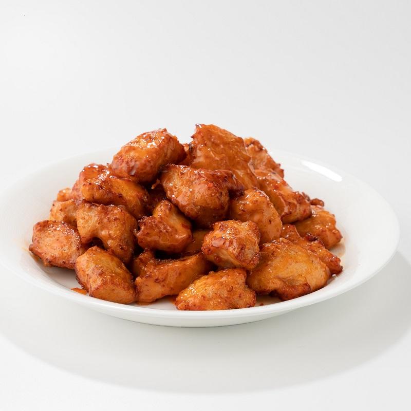 [主菜三選一]美乃滋甜辣醬炸雞便當(圖片僅供參考,不代表真實份量)