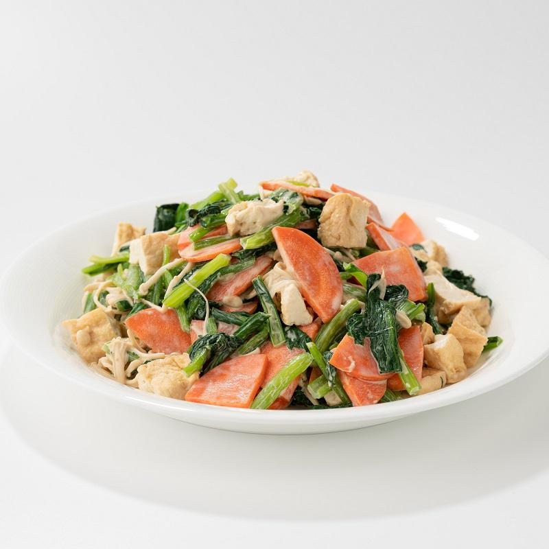 [附食]胡麻味噌油豆腐沙拉(圖片僅供參考,不代表真實份量)